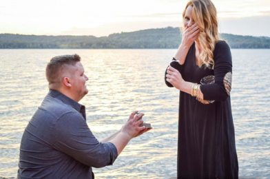 I Proposed to My Girlfriend on Table Rock Lake