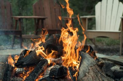 Warm Your Feet This New Year In Front of Campfire at Table Rock Lake